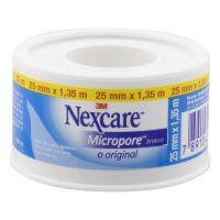 Fita Micropore Branca Nexcare 25 mm x 1,35 m - Cod. 7891040248315