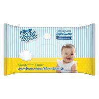 Lenços Umedecidos Baby Wipes 19,7x12,8cm 48un - Cod. 7896007551439