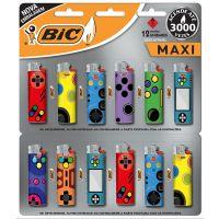 Isqueiro BIC  Maxi DECOR estampa Basic - Cod. 70330662537