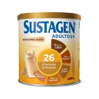 Complemento Alimentar Sustagen Adultos+ Sabor Banana - Lata 400g - Cod. 7898941911010