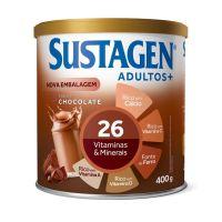 Complemento Alimentar Sustagen Adultos+ Sabor Chocolate - Lata 400g - Cod. 7898941911034