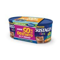 Complemento Alimentar Sustagen Kids Chocolate Kit Lata 2x380g - Cod. 7898941911898