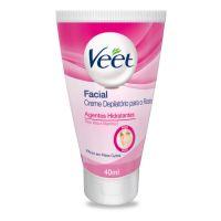Creme Depilatório Facial Veet - 40ml - Cod. 7891035911750