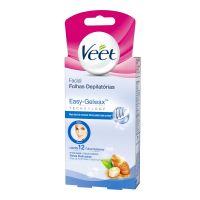 Cera Fria Facial Veet Peles Delicadas - 12 Folhas - Cod. 7891035912818