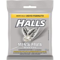Bala Halls Menta Prata 28g - Cod. 7622210956774C3