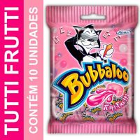 Bubbaloo Tutti Frutti 5g | Caixa com 10 - Cod. 7895800116258C10