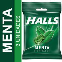 Bala Halls Menta 28g - Cod. 7622210956798C3