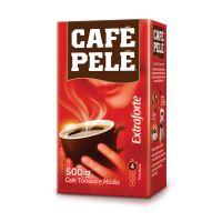 Café Pelé Torrado e Moído Extra Forte Vácuo 500g | Caixa com 10 - Cod. 7892222300500C10