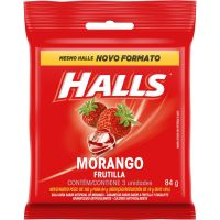 Bala Halls Morango 28g - Cod. 7622210956118C3
