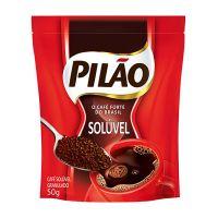 Café Solúvel Pilão Pouch 50g | Caixa com 12 - Cod. 7896089025491C12