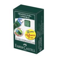 Grafite Técnico Faber-Castell Polymer 0.7mm 2B 1 Cx C/ 12 Un - Cod. 7891360572336C12