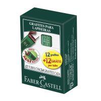Grafite Técnico Faber-Castell Polymer 0.5mm 2B 1 Cx C/ 12 Un - Cod. 7891360572305C12