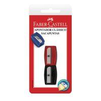 Apontador Clássico Faber-Castell Mix | Caixa com 1 - Cod. 7891360200192