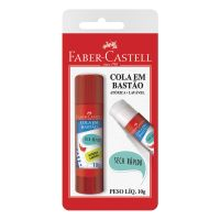 Cola Bastão Faber-Castell 10g | Caixa com 1 - Cod. 7891360328513