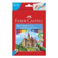 Ecolápis de Cor Faber-Castell 36 Cores - Cod. 7891360320142