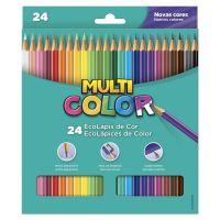 Ecolápis de Cor Faber-Castell Multicolor Super 24 Cores - Cod. 7891360587477