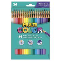 Ecolápis de Cor Faber-Castell Multicolor Super 36 Cores - Cod. 7891360587491