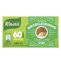 Caldo em Tablete para Feijão Knorr 57g 6 Unidades Edição Limitada Brasileirinho - Cod. 7891150079366
