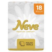Papel Higiênico Neve Premium Confort 20m 18un - Cod. 7896018704114