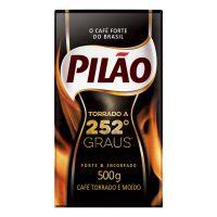 Café Pilão 252º Graus Vácuo 500g - Cod. 7896089013849