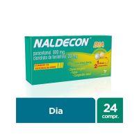 Antigripal Naldecon Dia - Caixa 24 Comprimidos - Cod. 7896016805608