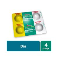 Antigripal Naldecon Dia - Blíster 4 Comprimidos - Cod. 7896016805615