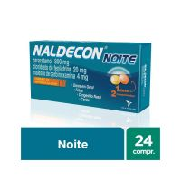 Antigripal Naldecon Noite - Caixa 24 Comprimidos - Cod. 7896016806261