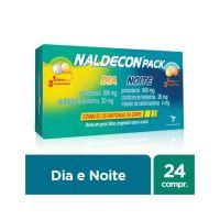 Antigripal Naldecon Pack Dia e Noite - Caixa 24 Comprimidos - Cod. 7896016807213