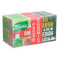 Kit Caldo em Tablete Galinha + Carne + Legumes Knorr Mais Sabor 57g Cada Pacote Econômico - Cod. 7891150074675
