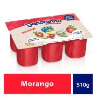 Iogurte Danoninho Polpa Morango 510g - Cod. 7891025121060