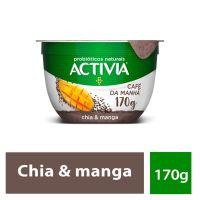 Leite Fermentado Activia Café da Manhã Chia/Manga 170g - Cod. 7891025117766