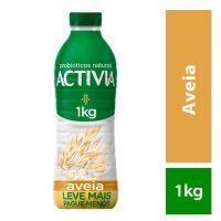 Leite Fermentado Activia Líquido Aveia 1000g - Cod. 7891025113157
