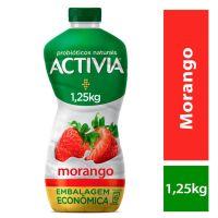 Leite Fermentado Activia Líquido Morango 1250g - Cod. 7891025109631