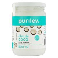 Óleo de Coco Purilev Vidro 500ml - Cod. 7896036099018