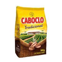 Café Torrado e Moído Caboclo Tradicional Pouch 500g - Cod. 7896089011227C6
