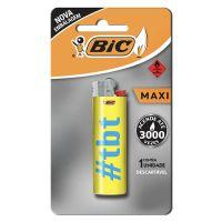 Isqueiro BIC Maxi DECOR estampa Basic - Cod. 070330662520C10