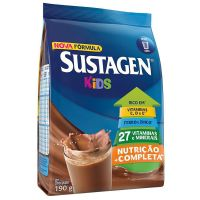 Complemento Alimentar Sustagen Kids Chocolate Display Com 6 Sachês 190g - Cod. 7898941911089