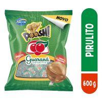 Bolsa de Pirulito Poosh Guarana 600g (50 un/cada) | Caixa com 12 - Cod. 7891118025411