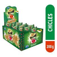 Display de Chicle Poosh Guarana 200g (40 un/cada) | Caixa com 18 - Cod. 7891118025381