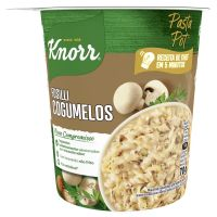 Macarrão Instantâneo Knorr Fusilli Cogumelos Pasta Pot 70g - Cod. 7891150079427