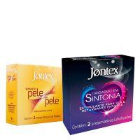 Combo Compre 2 preservativos Jontex e Ganhe 15% de desconto - Cod. C42818
