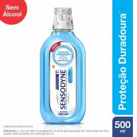 Sensodyne Coolmint Enxaguatório Bucal para Dentes Sensíveis com 500ml - Cod. 7896015530457