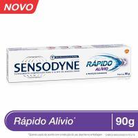 Sensodyne Rápido Alívio Creme Dental para Dentes Sensíveis 90g - Cod. 7896015528300