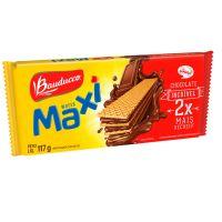 Biscoito Wafer Bauducco Maxi Chocolate 117g - Cod. 7891962048192