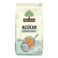 Açúcar Demerara Mãe Terra 400g - Cod. 7896496940158