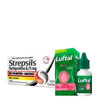 Combo saúde Strepsils e Luftal e ganhe 15% de desconto - Cod. C43986
