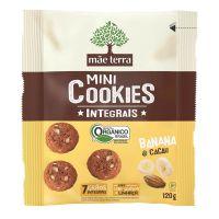 Cookie Integral Orgânico Banana e Cacau 120g - Cod. 7896496980888