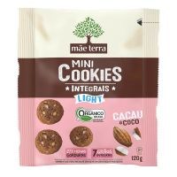 Cookie Integral Orgânico Light Cacau e Coco 120g - Cod. 7896496981007