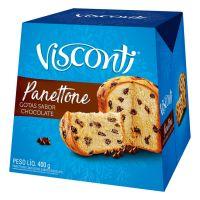 Panettone Visconti com Gotas de Chocolate 400g - Cod. 7891962027418