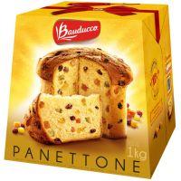 Panettone Bauducco com Frutas Cristalizadas e Uvas-Passas 1 Kg - Cod. 7891962000046